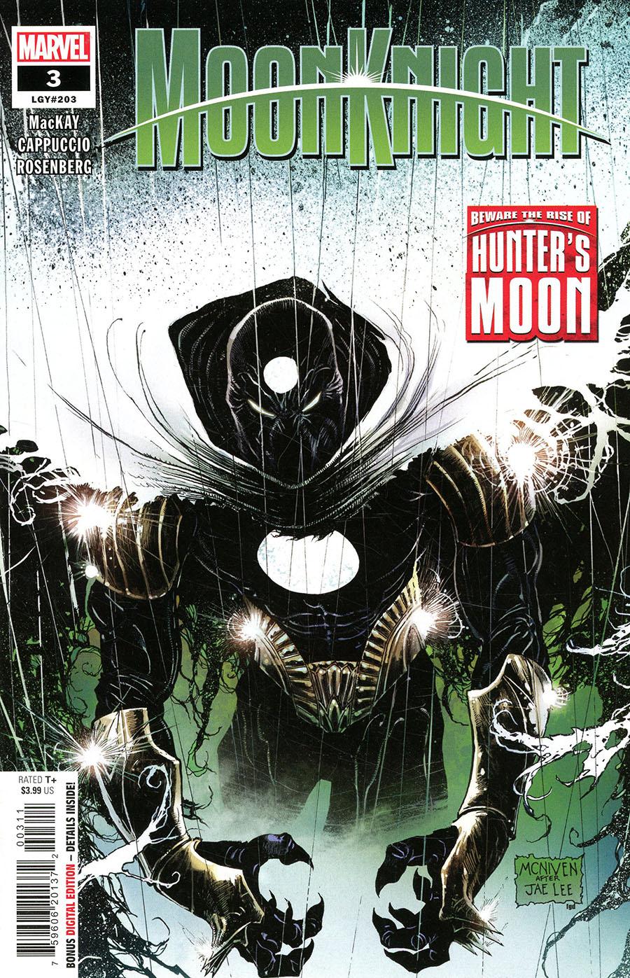 Moon Knight Vol 9 #3 Cover A Regular Steve McNiven Cover (Limit 1 Per Customer)
