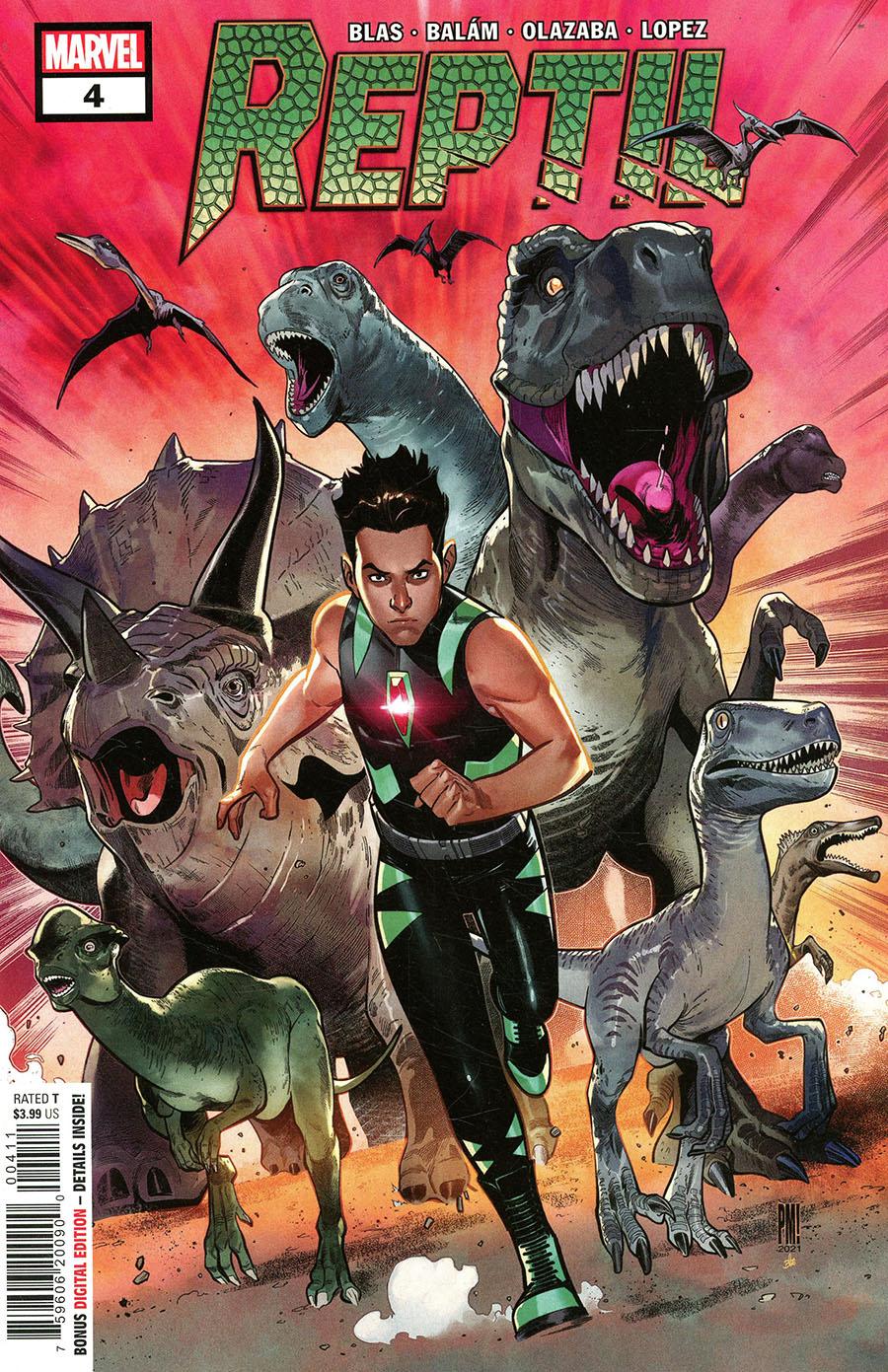 Reptil #4 Cover A Regular Paco Medina Cover