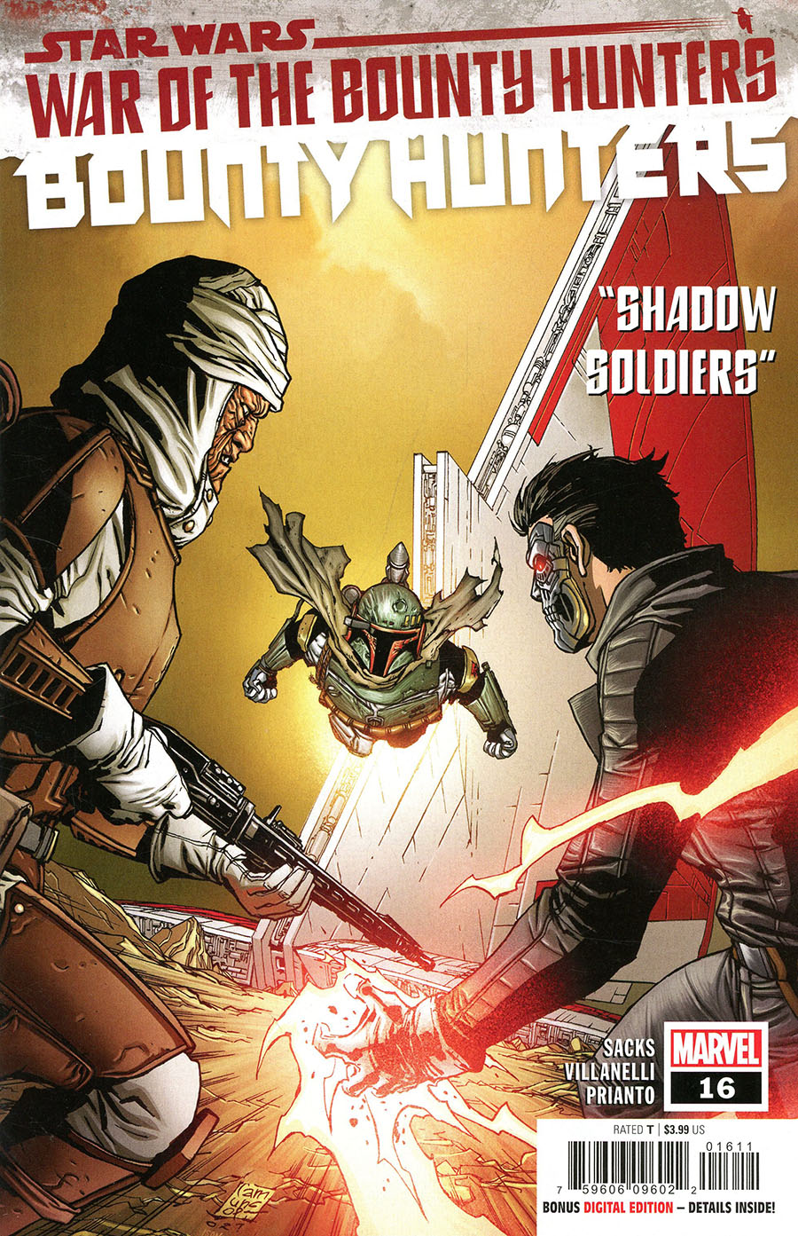Star Wars Bounty Hunters #16 Cover A Regular Giuseppe Camuncoli Cover (War Of The Bounty Hunters Tie-In)