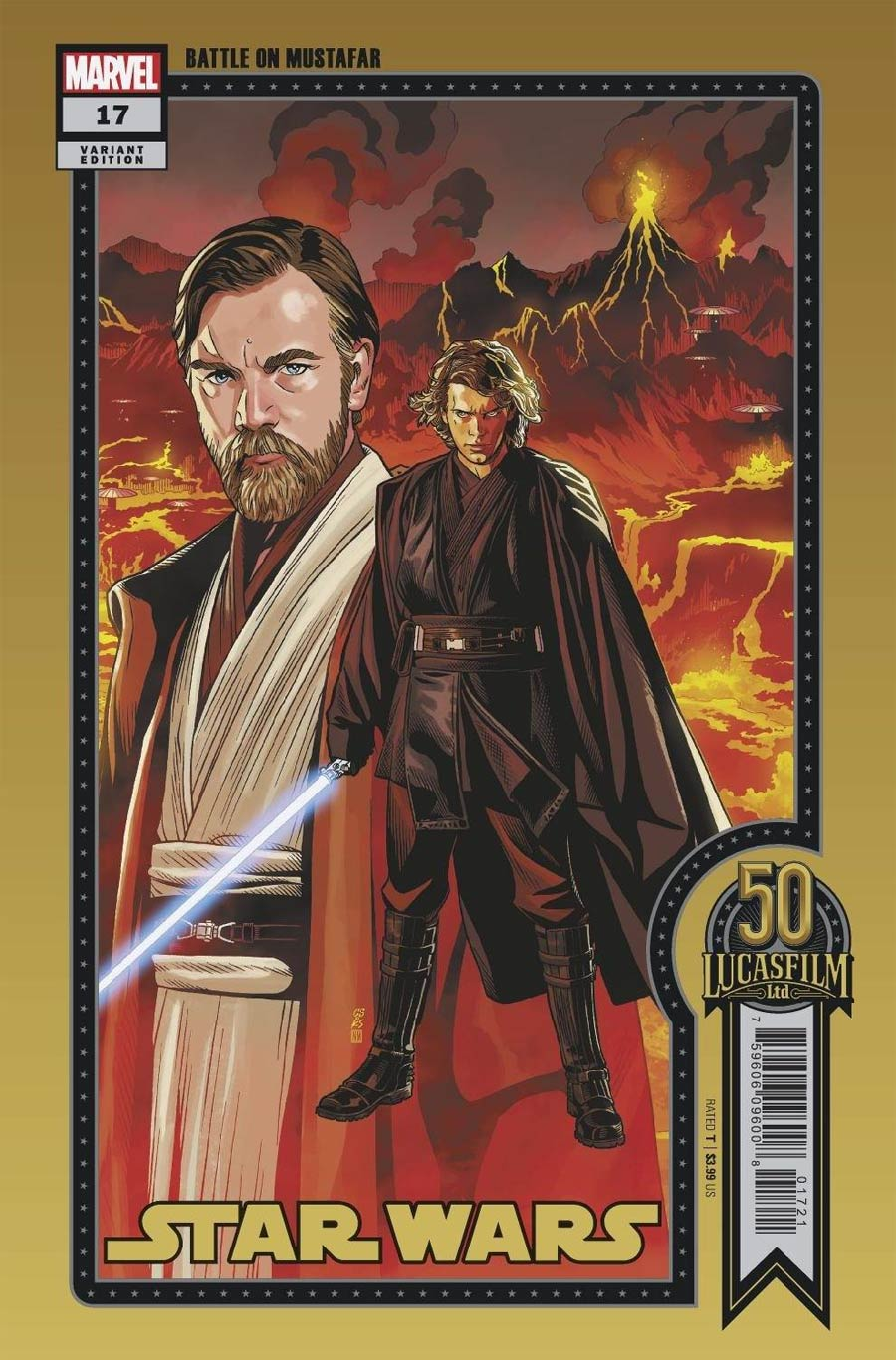 Star Wars Vol 5 #17 Cover C Variant Chris Sprouse LucasFilm 50th Anniversary Cover (War Of The Bounty Hunters Tie-In)
