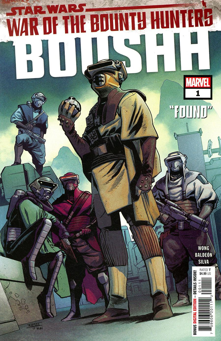 Star Wars War Of The Bounty Hunters Boushh #1 (One Shot) Cover A Regular Mahmud Asrar Cover