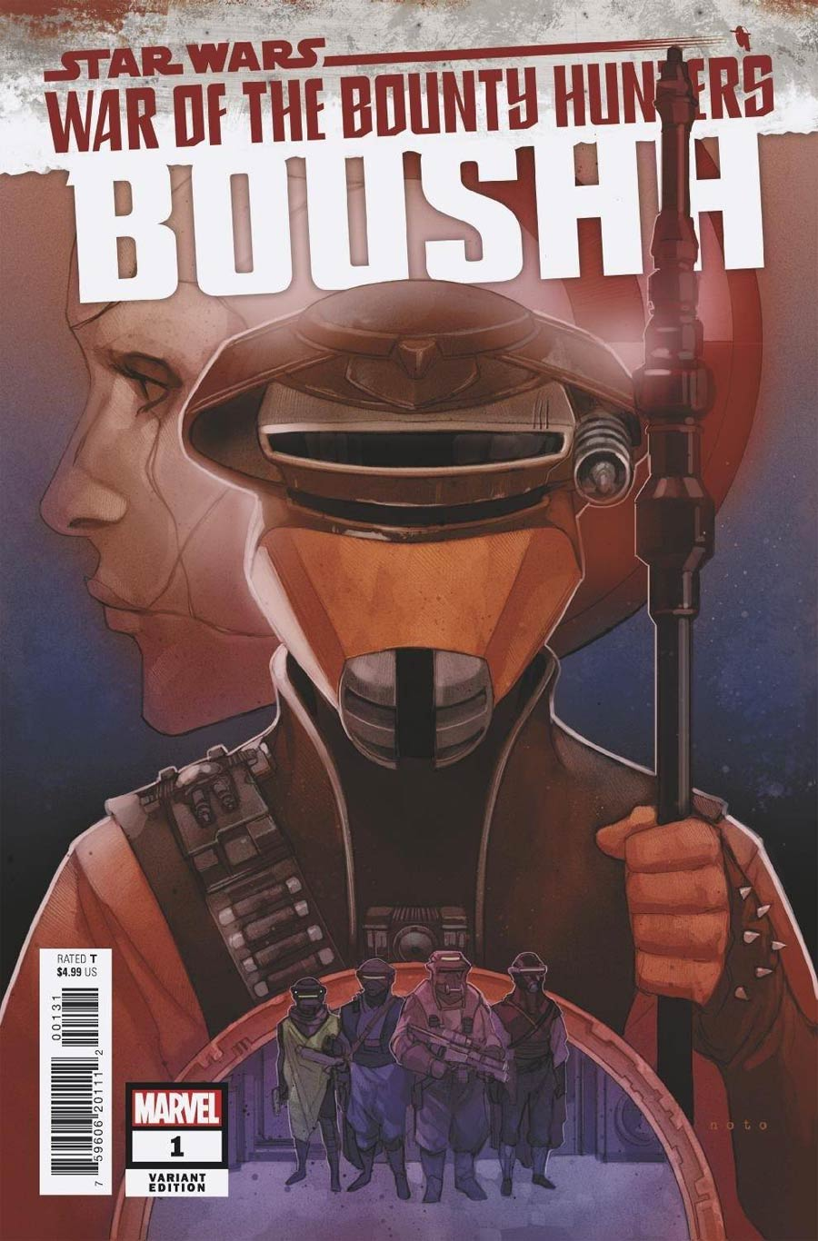 Star Wars War Of The Bounty Hunters Boushh #1 (One Shot) Cover C Variant Phil Noto Cover