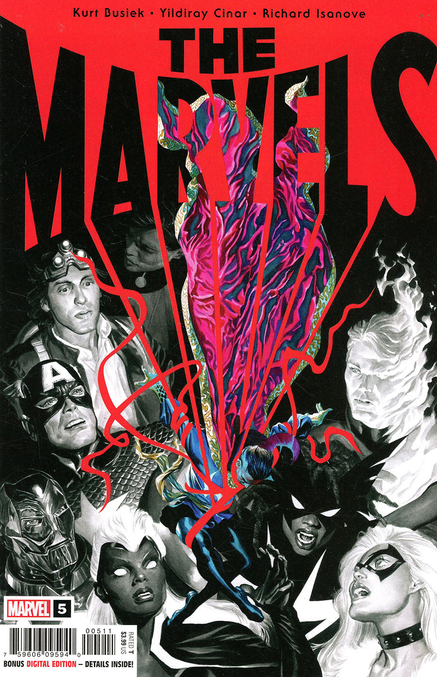 The Marvels #5 Cover A Regular Alex Ross Cover