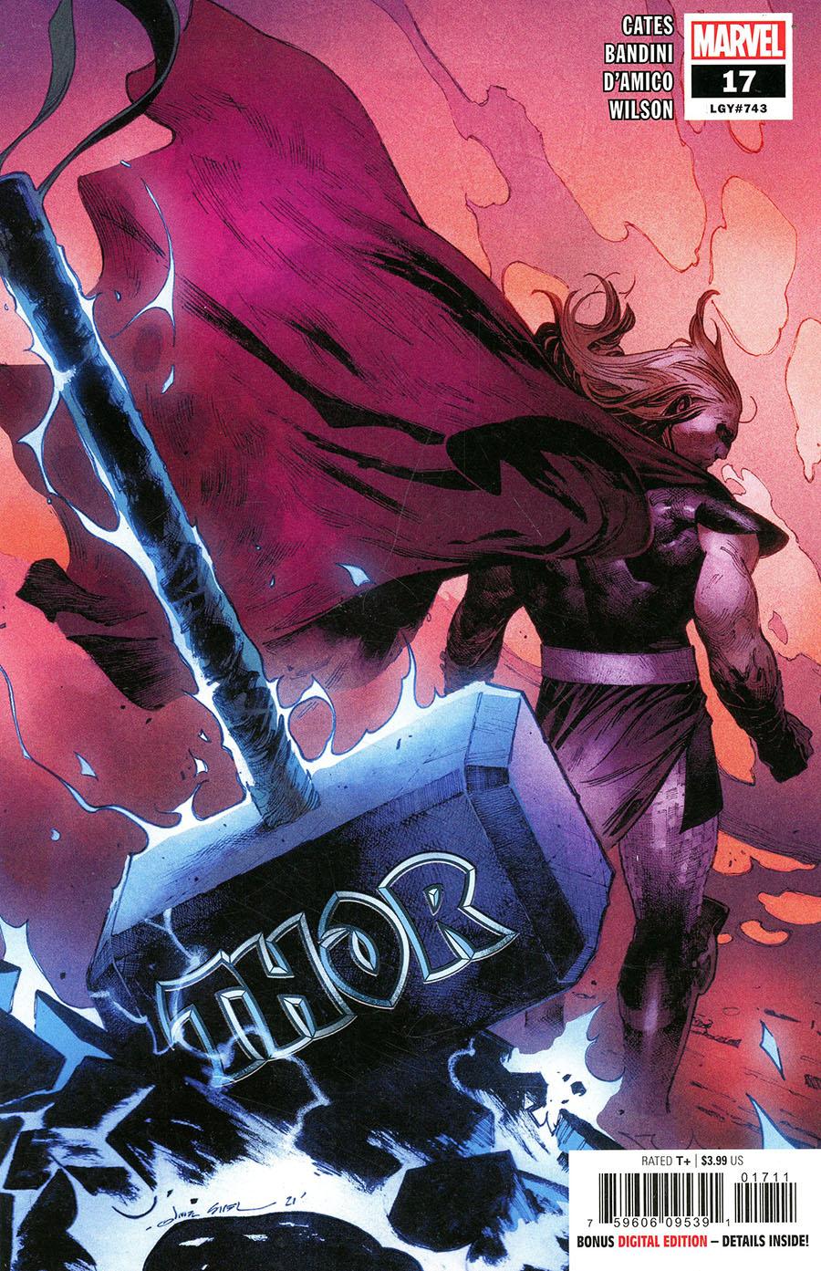 Thor Vol 6 #17 Cover A Regular Olivier Coipel Cover