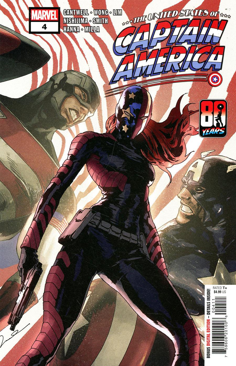 United States Of Captain America #4 Cover A Regular Gerald Parel Cover