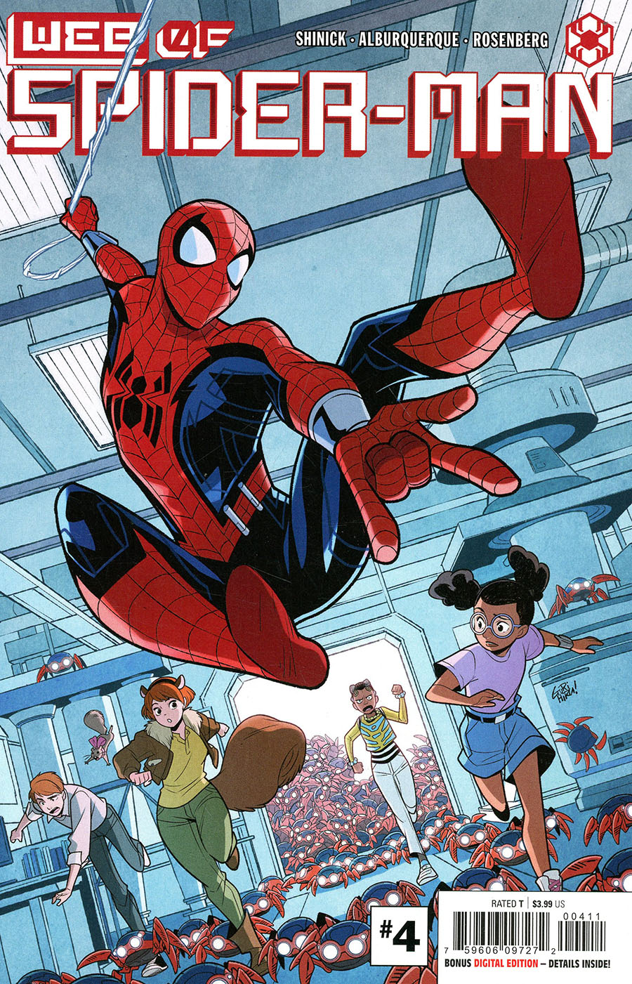 W.E.B. Of Spider-Man #4 Cover A Regular Gurihiru Cover (Limit 1 Per Customer)