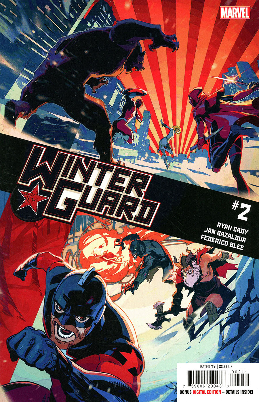 Winter Guard #2 Cover A Regular Toni Infante Cover