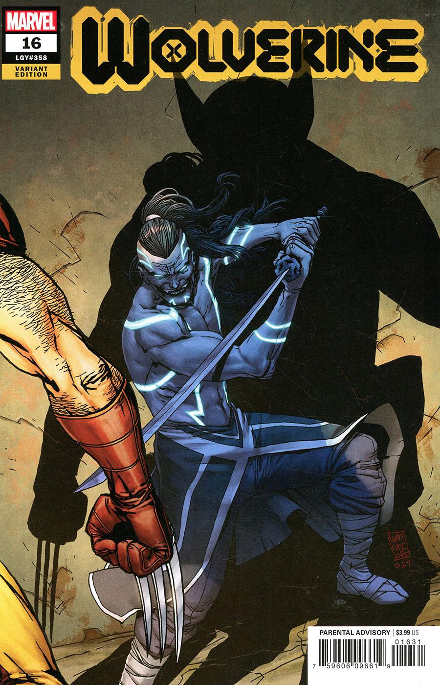 Wolverine Vol 7 #16 Cover C Variant Giuseppe Camuncoli Cover