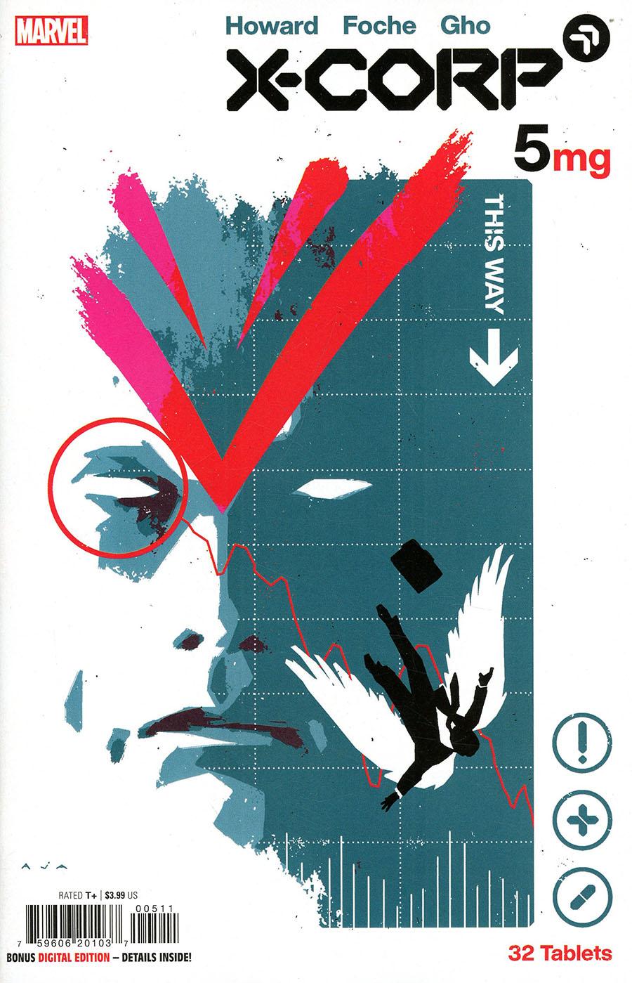 X-Corp #5 Cover A Regular David Aja Cover