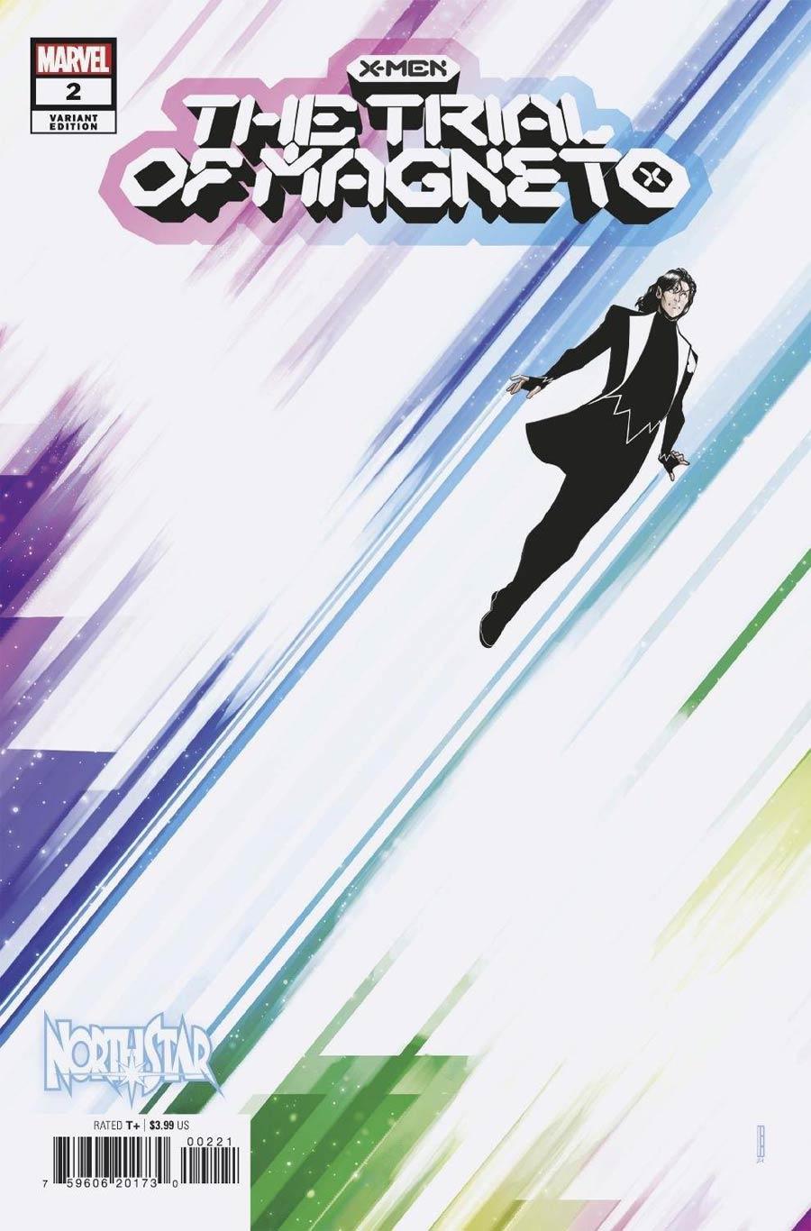 X-Men Trial Of Magneto #2 Cover B Variant David Baldeon Cover