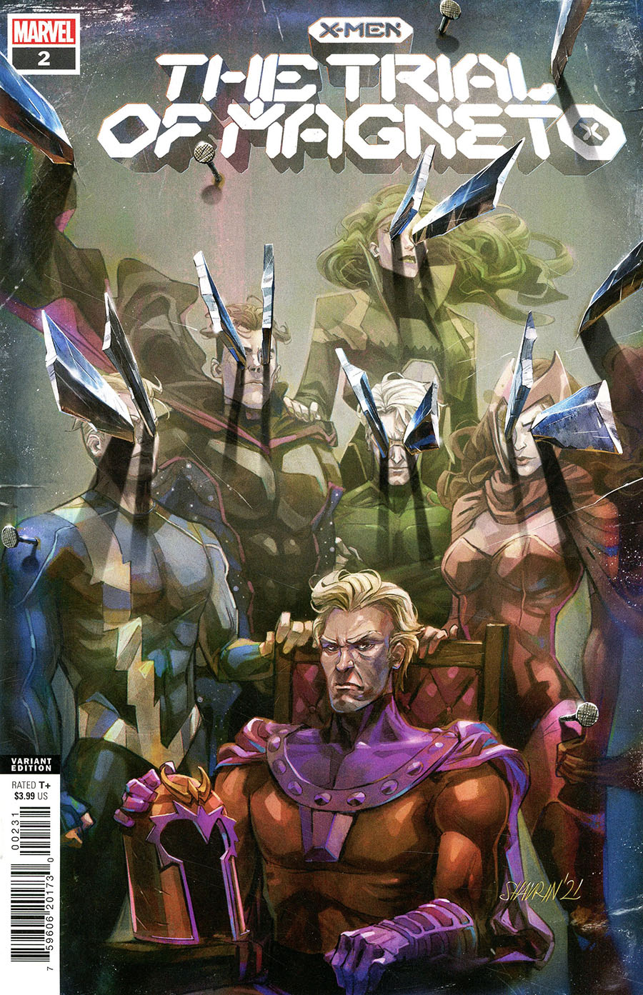X-Men Trial Of Magneto #2 Cover C Variant Ivan Shavrin Cover