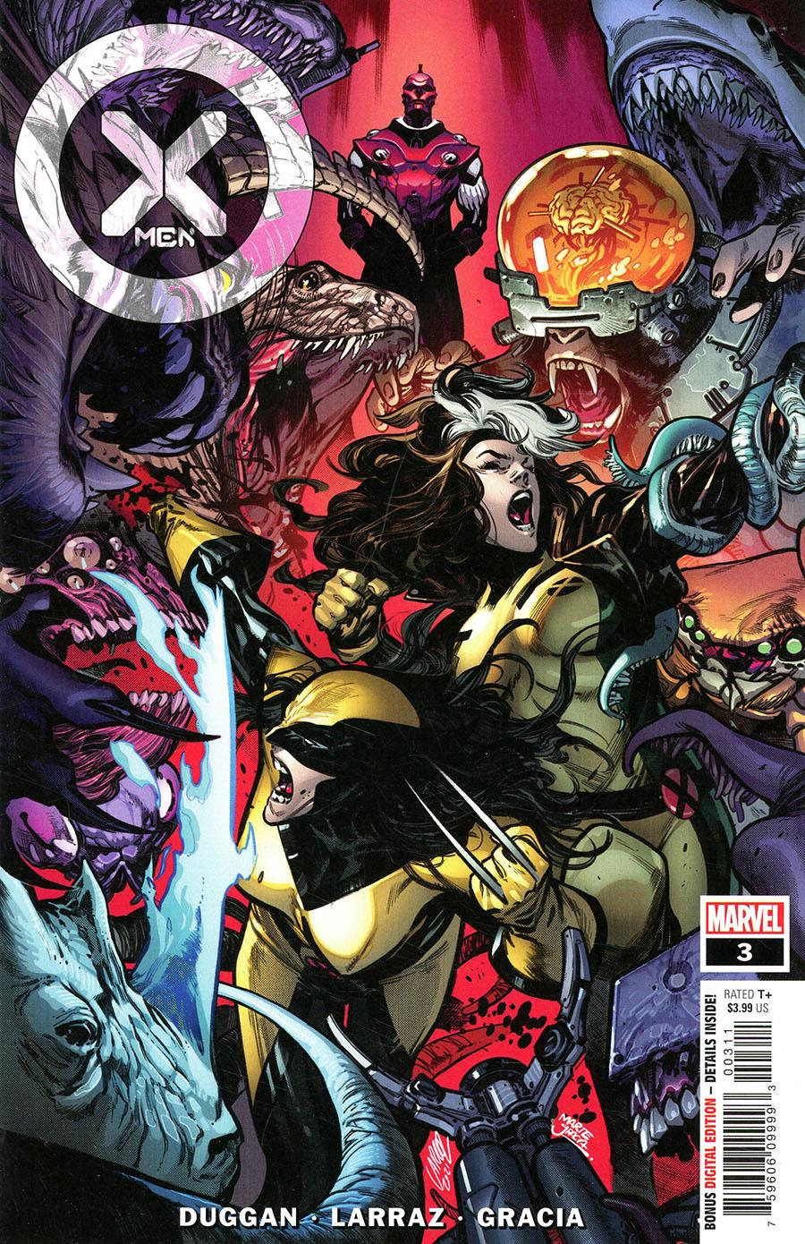 X-Men Vol 6 #3 Cover A Regular Pepe Larraz Cover