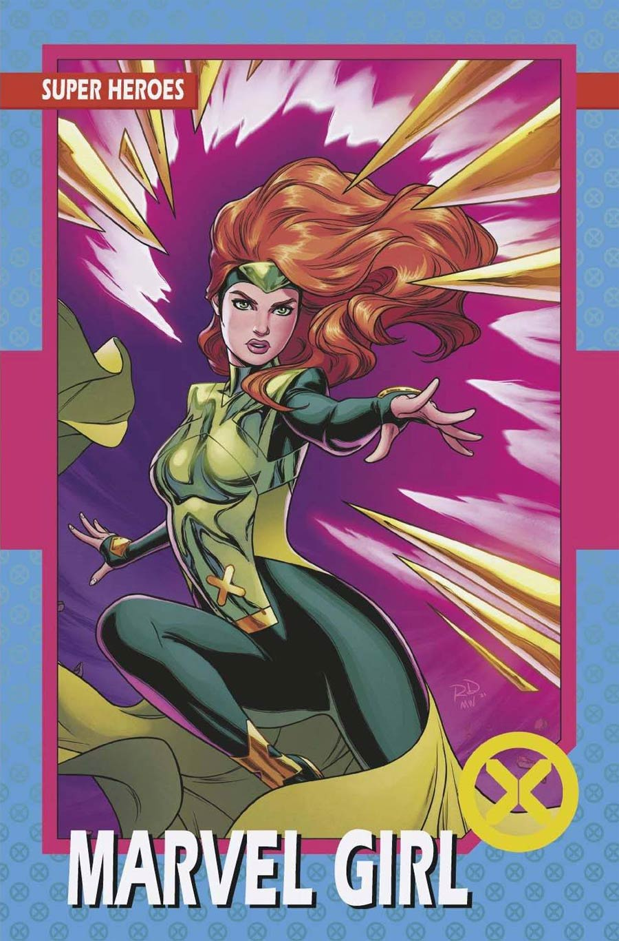 X-Men Vol 6 #3 Cover B Variant Russell Dauterman Trading Card Cover