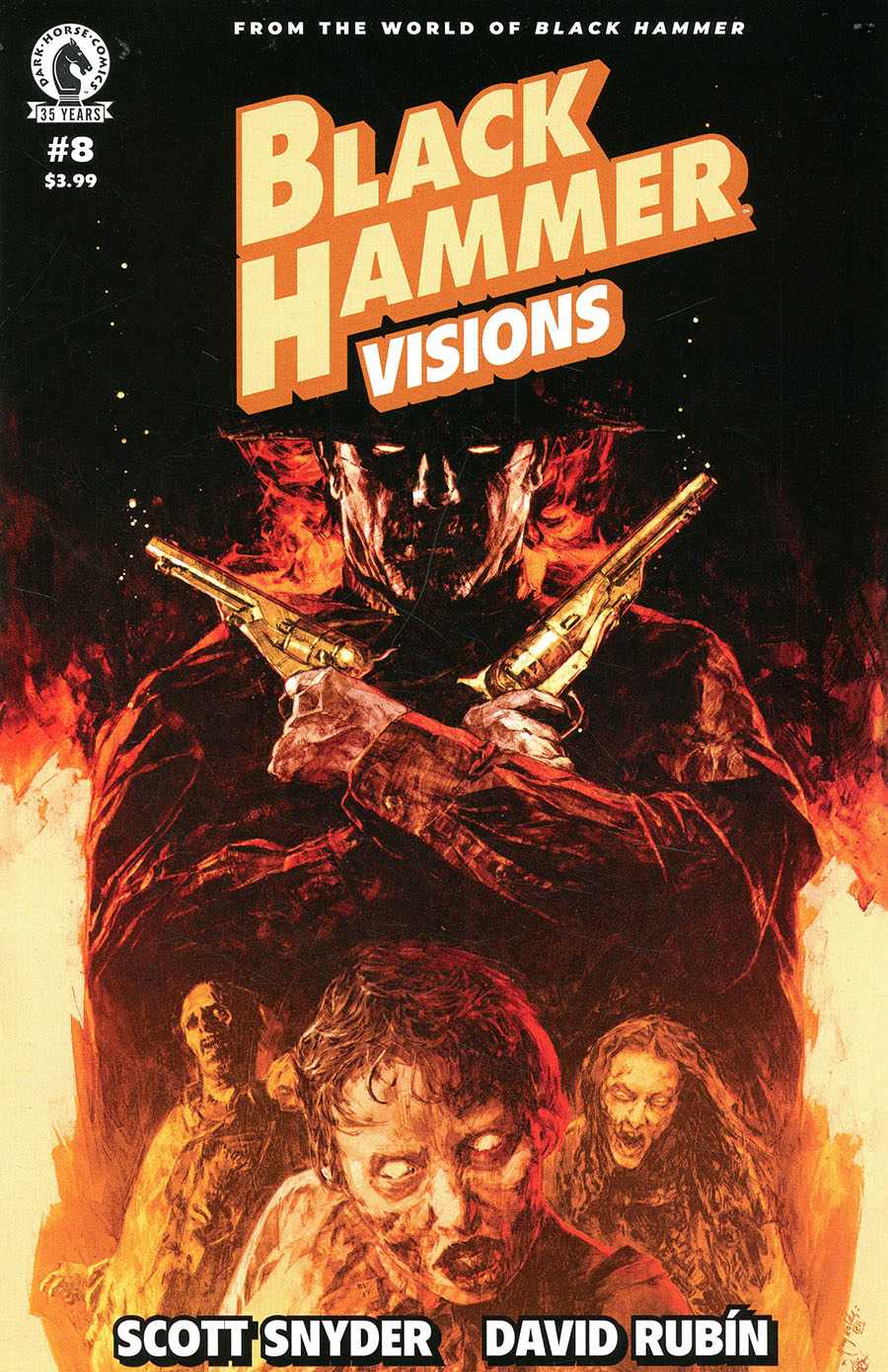 Black Hammer Visions #8 Cover B Variant Patric Reynolds & Luis NCT Cover