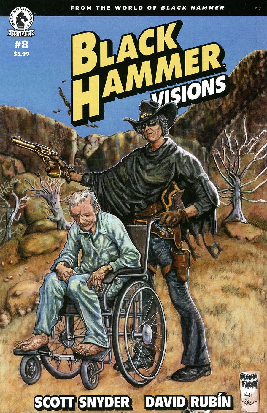 Black Hammer Visions #8 Cover C Variant Glenn Fabry & Karen Holloway Cover