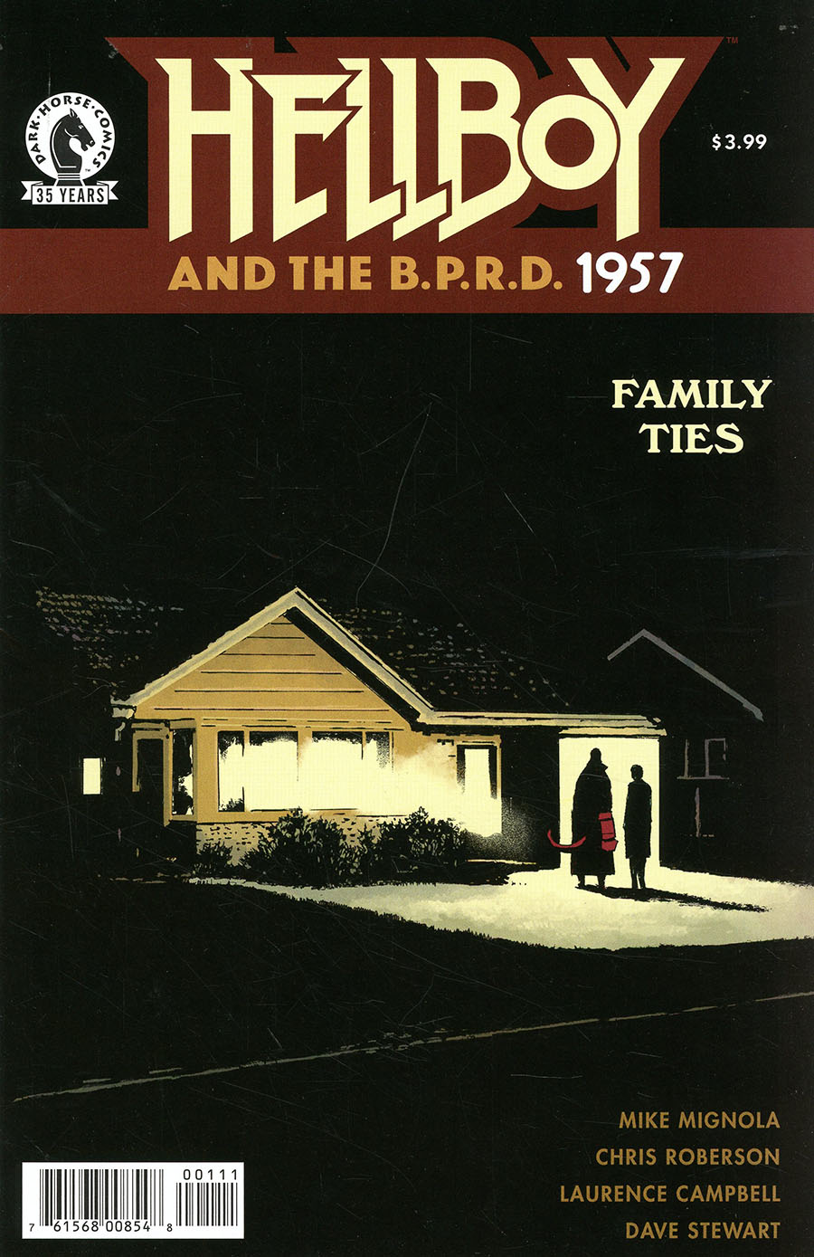Hellboy And The BPRD 1957 Family Ties #1 (One Shot)