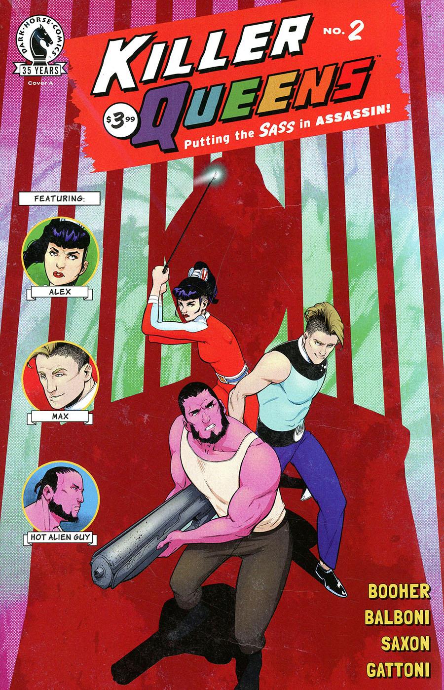 Killer Queens #2 Cover A Regular Claudia Balboni Cover