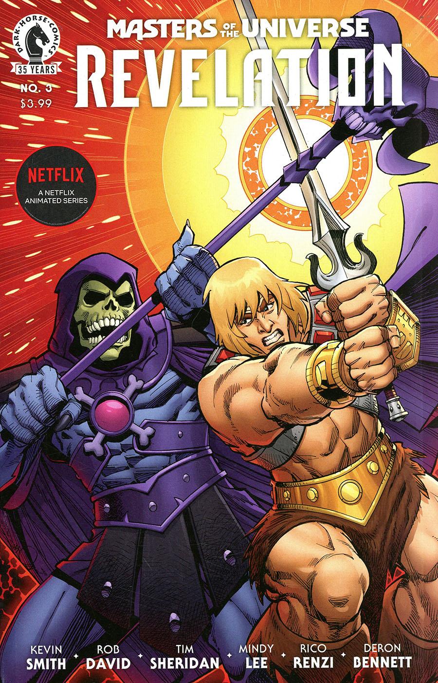 Masters Of The Universe Revelation #3 Cover B Variant Walter Simonson & Laura Martin Cover