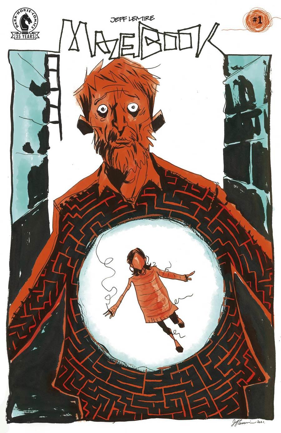 Mazebook #1 Cover A Regular Jeff Lemire Cover