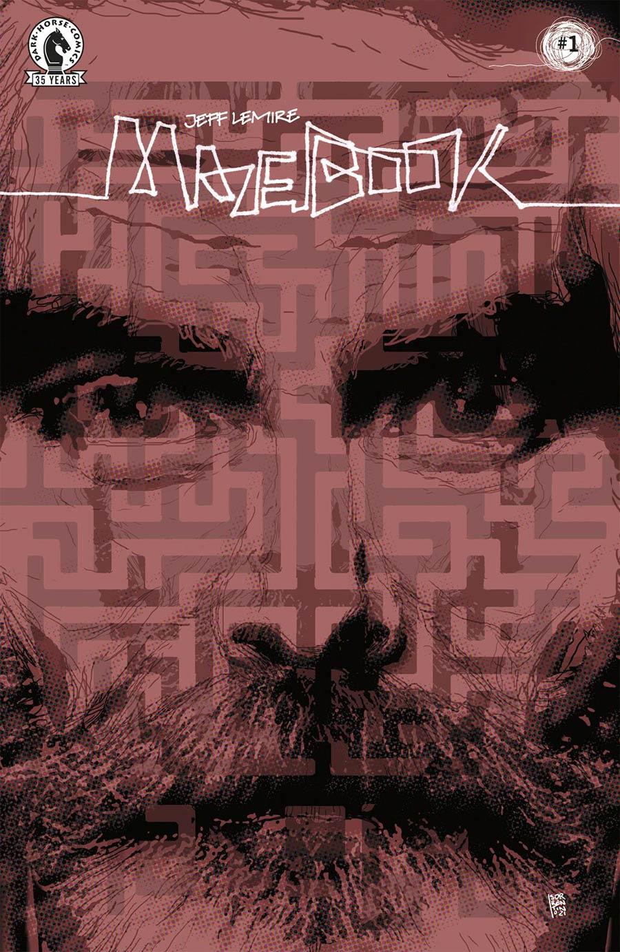 Mazebook #1 Cover B Variant Andrea Sorrentino Cover