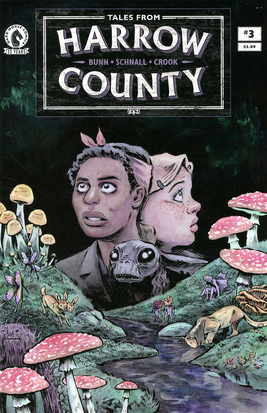 Tales From Harrow County Fair Folk #3 Cover A Regular Emily Schnall Cover