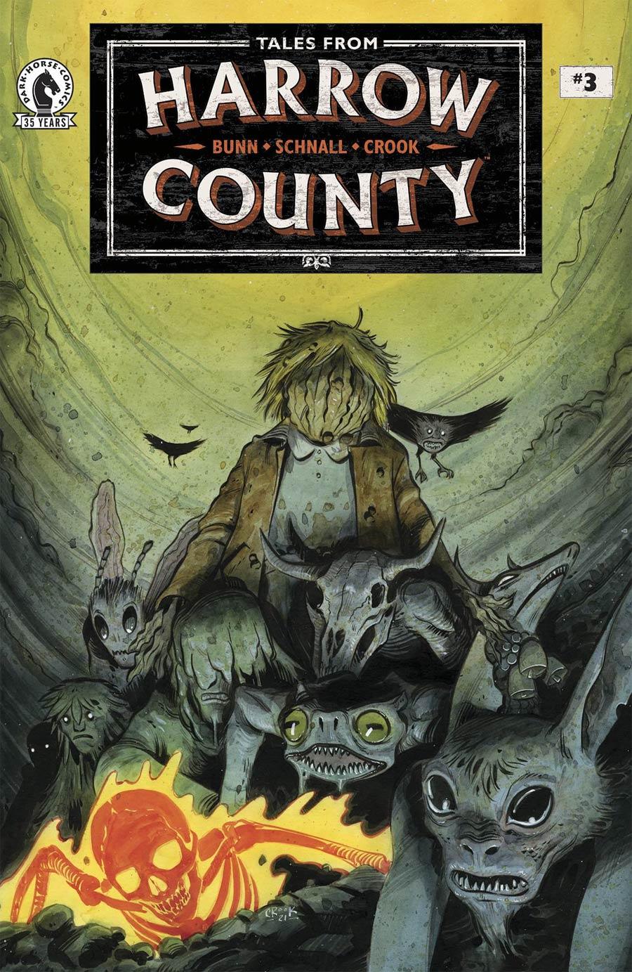 Tales From Harrow County Fair Folk #3 Cover B Variant Tyler Crook Cover