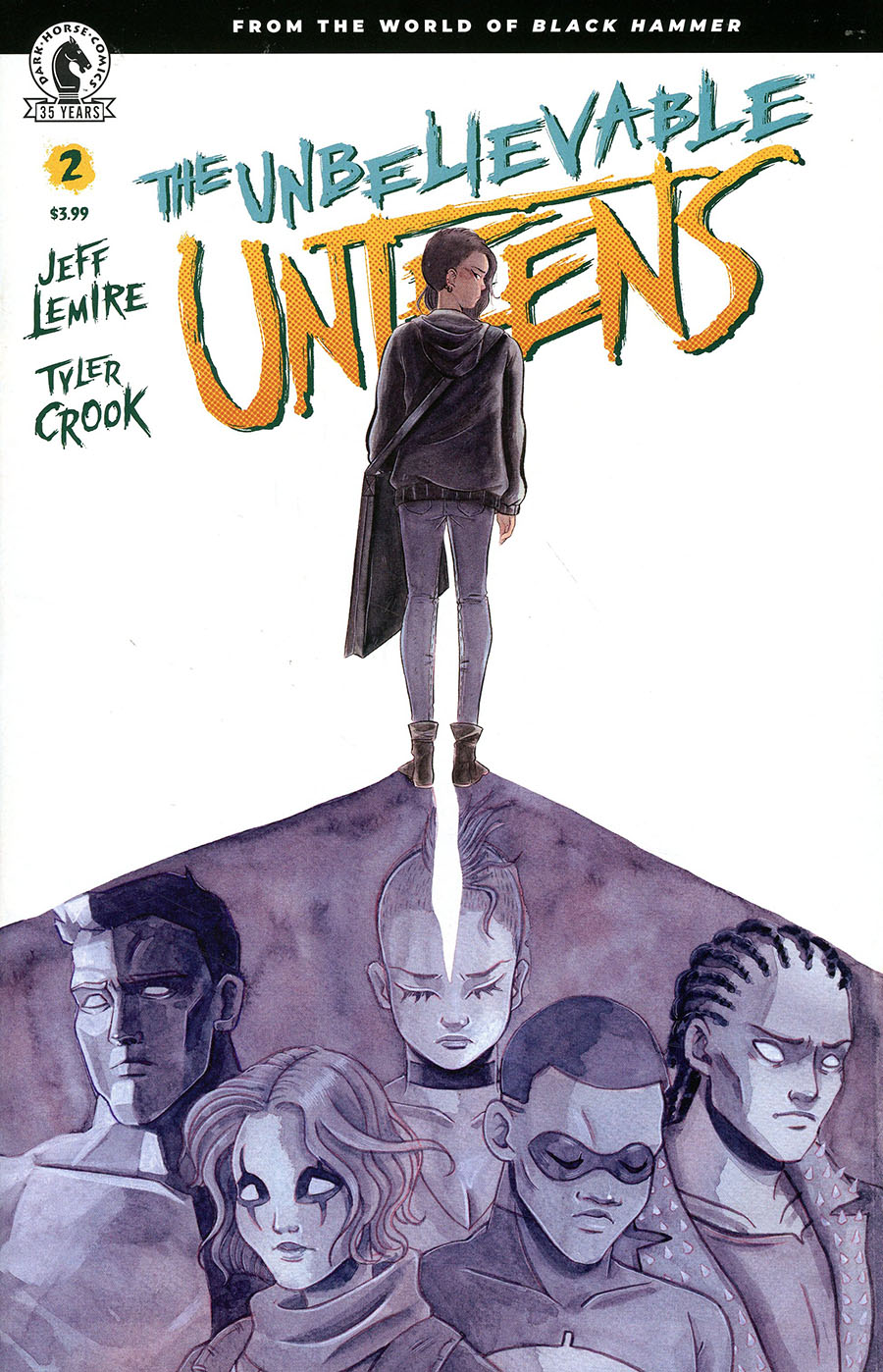 Unbelievable Unteens From The World Of Black Hammer #2 Cover B Variant Emi Lenox Cover