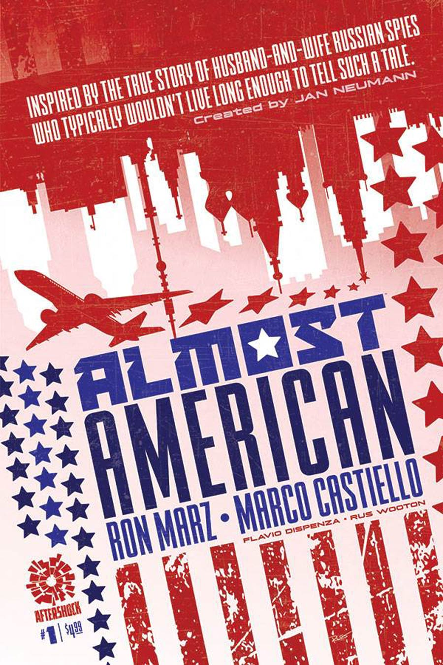 Almost American #1 Cover A Regular Rus Wooton Cover