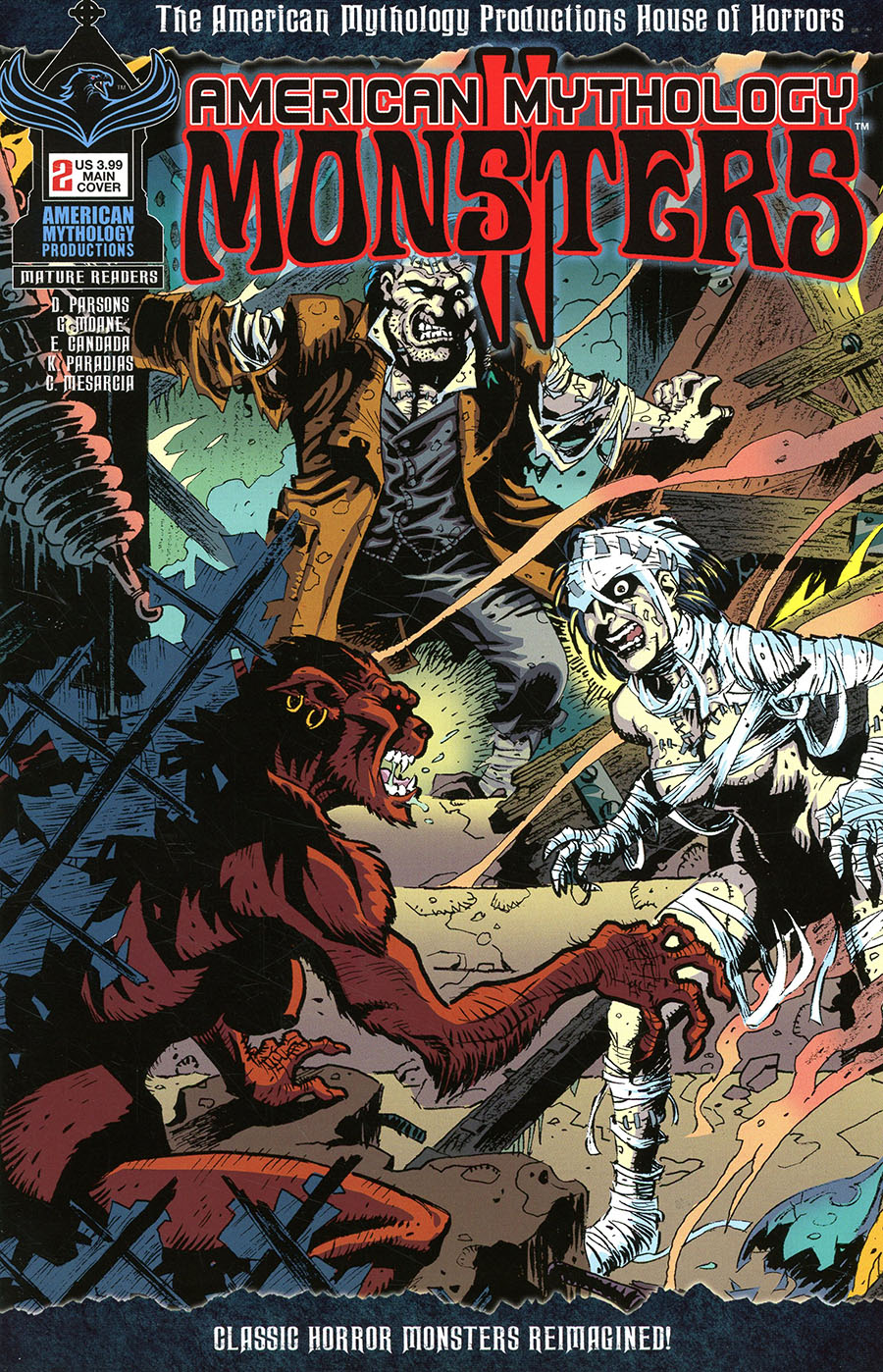 American Mythology Monsters Vol 2 #2 Cover A Regular Neil Vokes Cover
