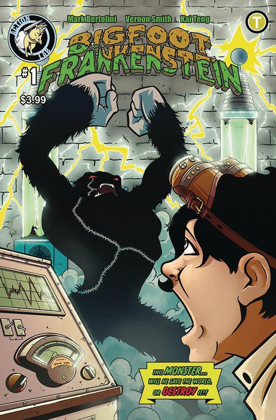 Bigfoot Frankenstein #1