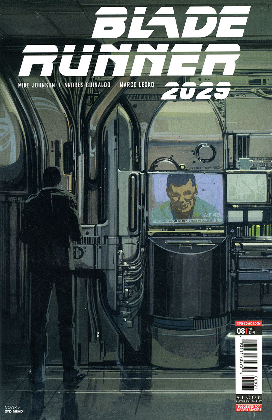 Blade Runner 2029 #8 Cover B Variant Syd Mead Cover