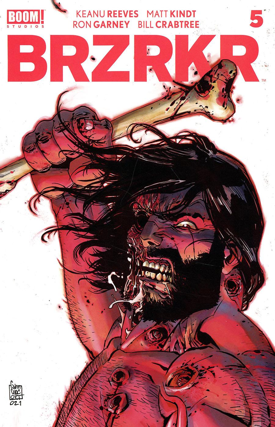 BRZRKR (Berzerker) #5 Cover B Variant Giuseppe Camuncoli Cover
