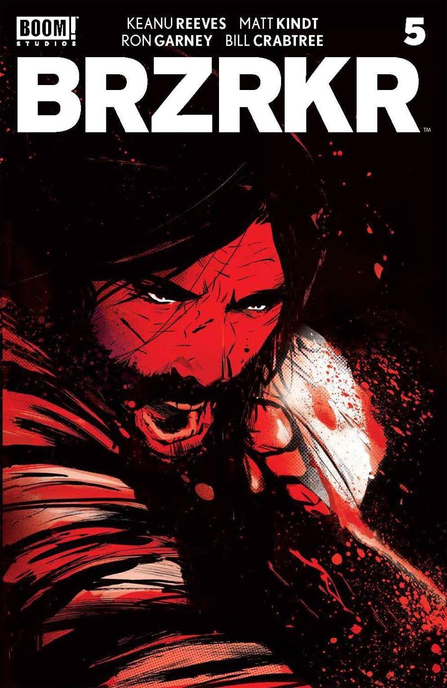 BRZRKR (Berzerker) #5 Cover C Variant Lee Garbett Foil Cover