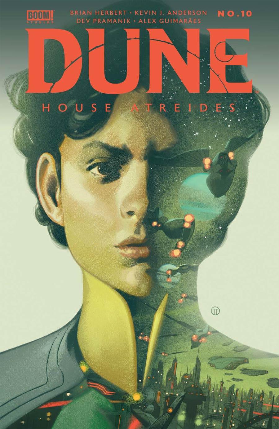 Dune House Atreides #10 Cover B Variant Julian Totino Tedesco Cover