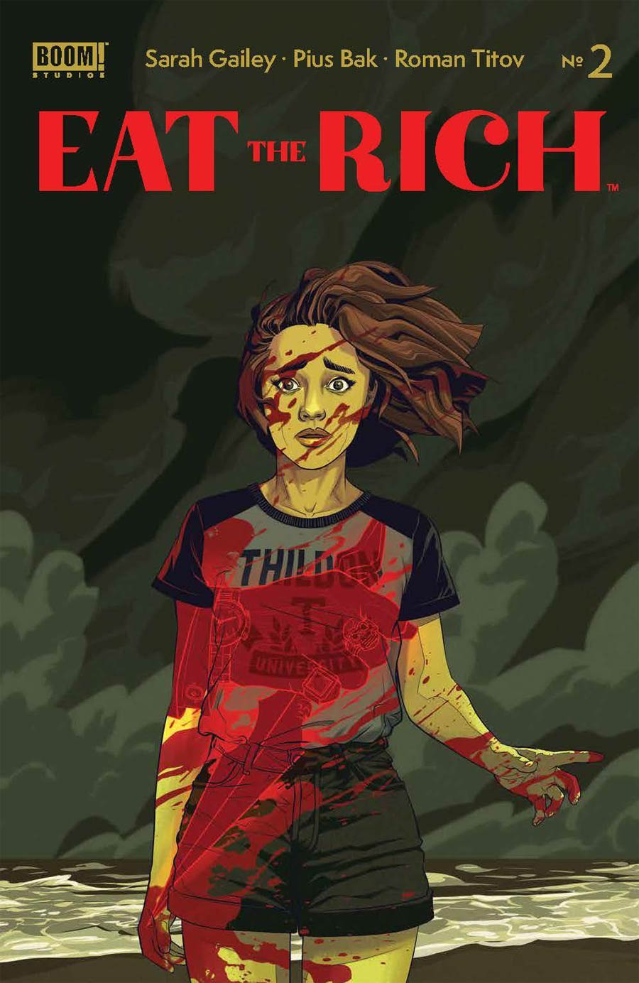 Eat The Rich #2 Cover A Regular Kevin Tong Cover
