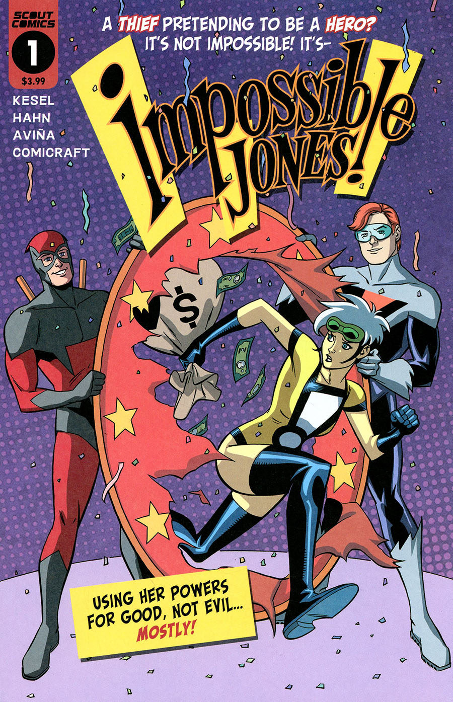 Impossible Jones #1 Cover A Regular David Hahn & Karl Kesel Cover