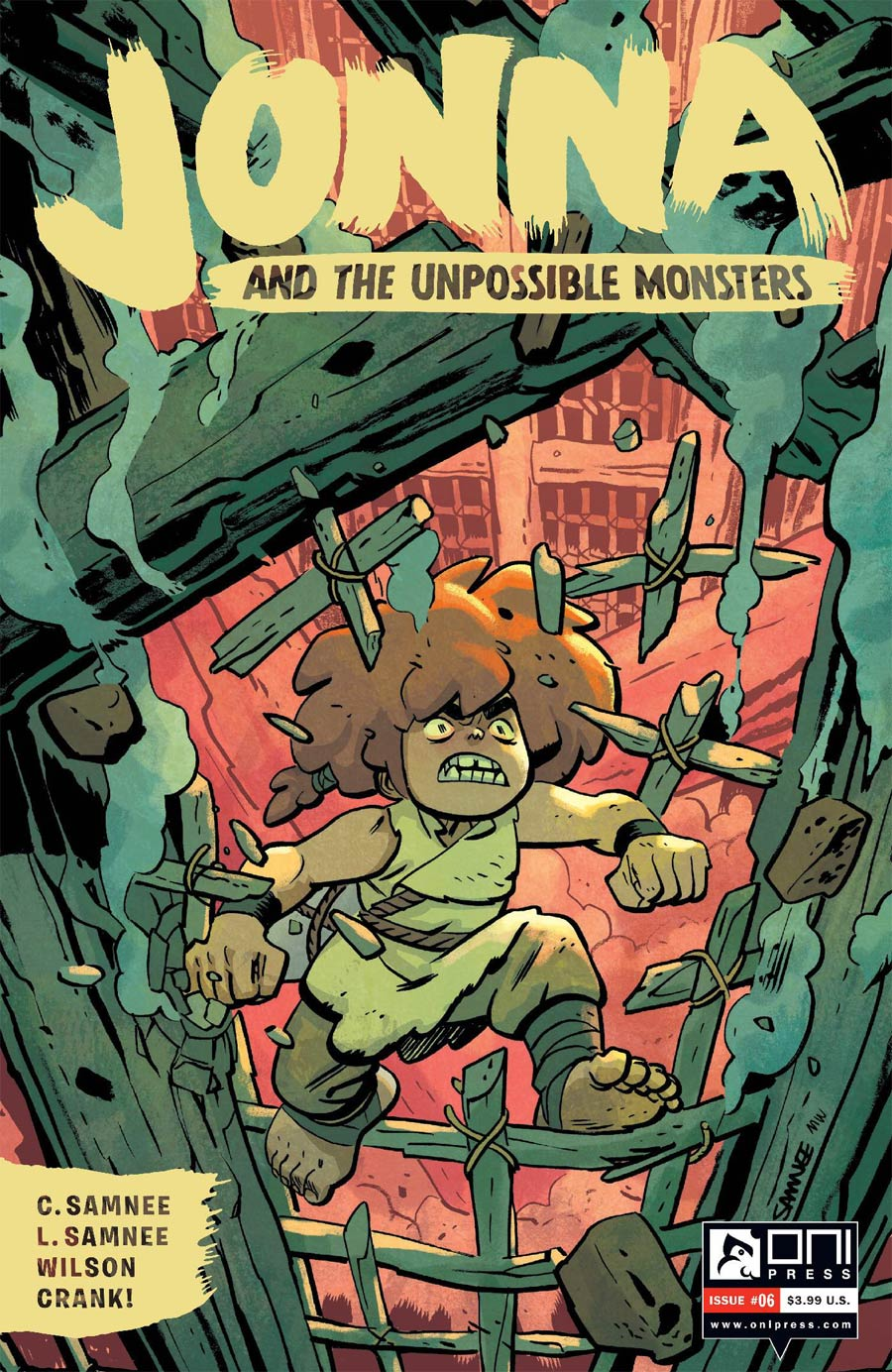 Jonna And The Unpossible Monsters #6 Cover A Regular Chris Samnee Cover