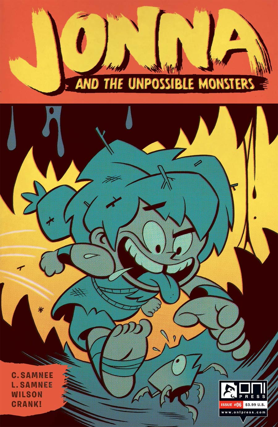 Jonna And The Unpossible Monsters #6 Cover B Variant Zander Cannon Cover