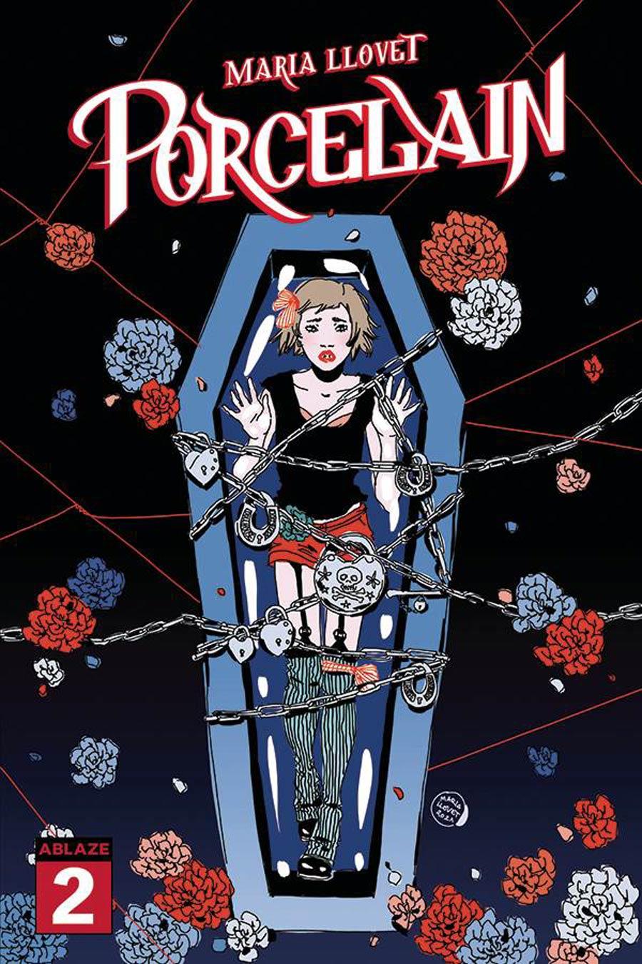 Maria Llovets Porcelain #2 Cover A Regular Maria Llovet Cover