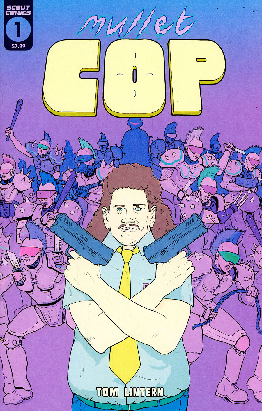 Mullet Cop #1 Cover A Regular Tom Lintern Cover