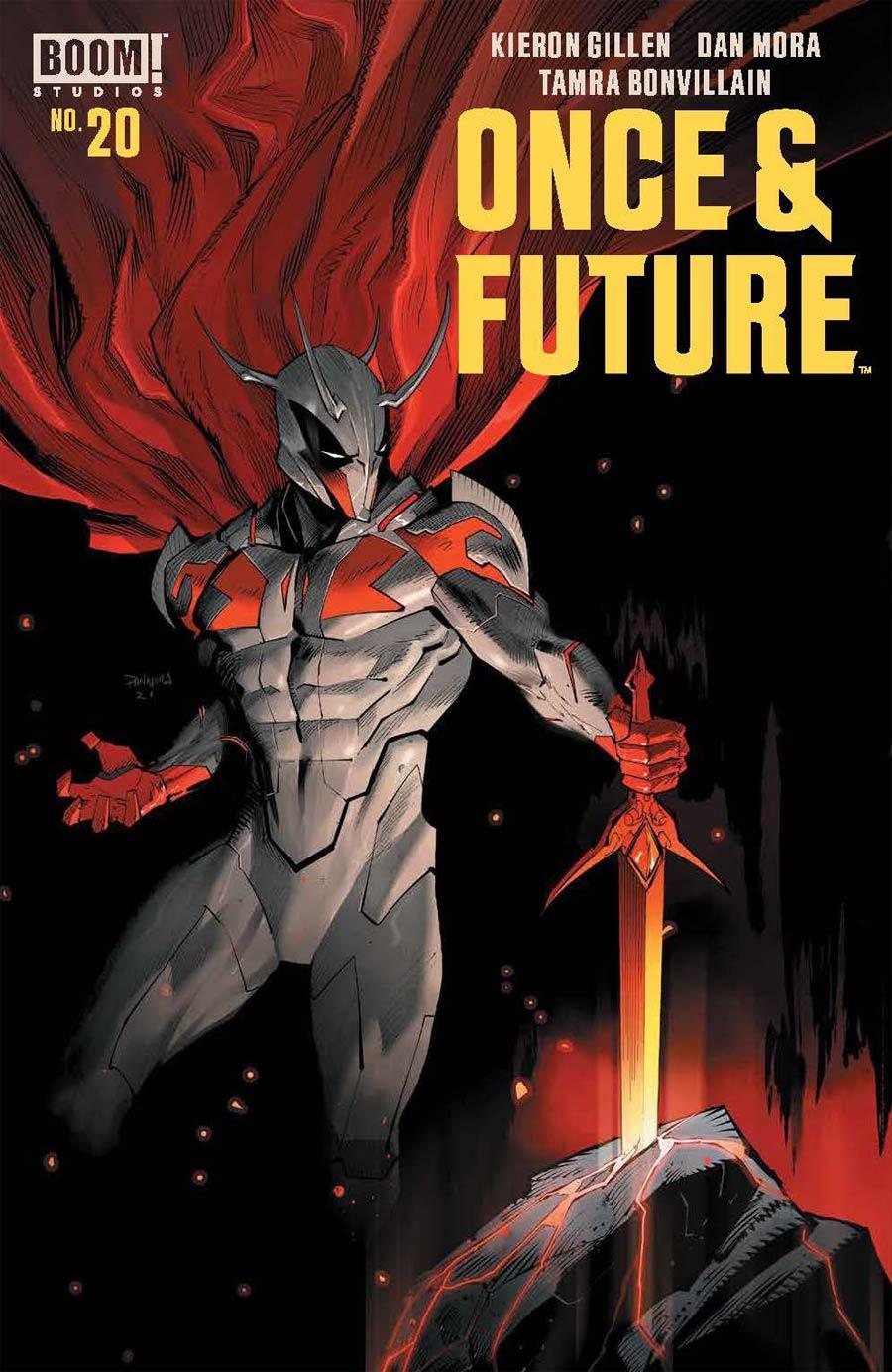 Once & Future #20 Cover A Regular Dan Mora Cover