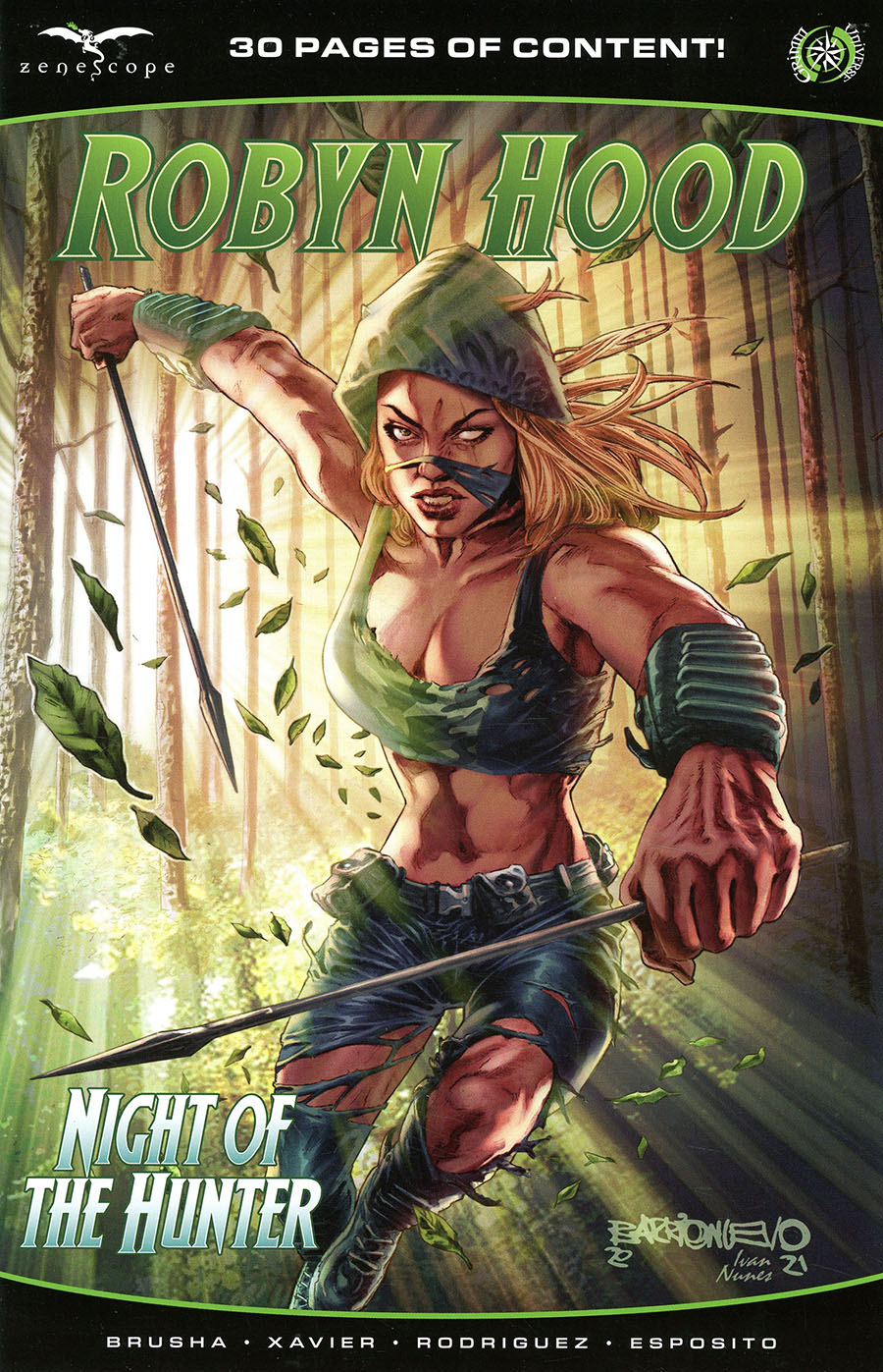 Grimm Fairy Tales Presents Robyn Hood Hunted #1 (One Shot) Cover A Al Barrionuevo