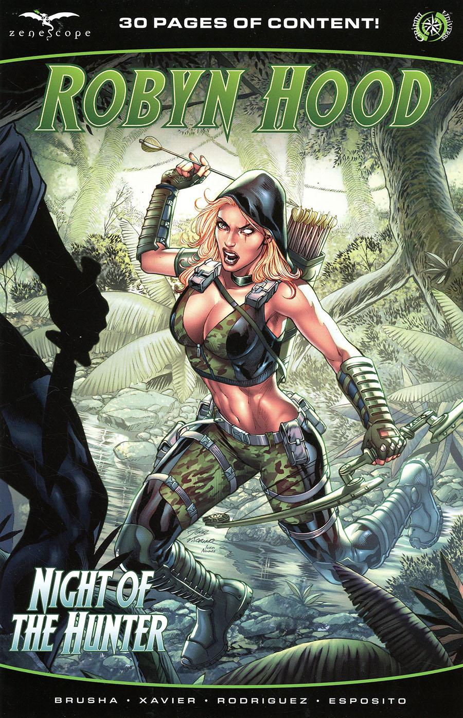 Grimm Fairy Tales Presents Robyn Hood Hunted #1 (One Shot) Cover B Igor Vitorino
