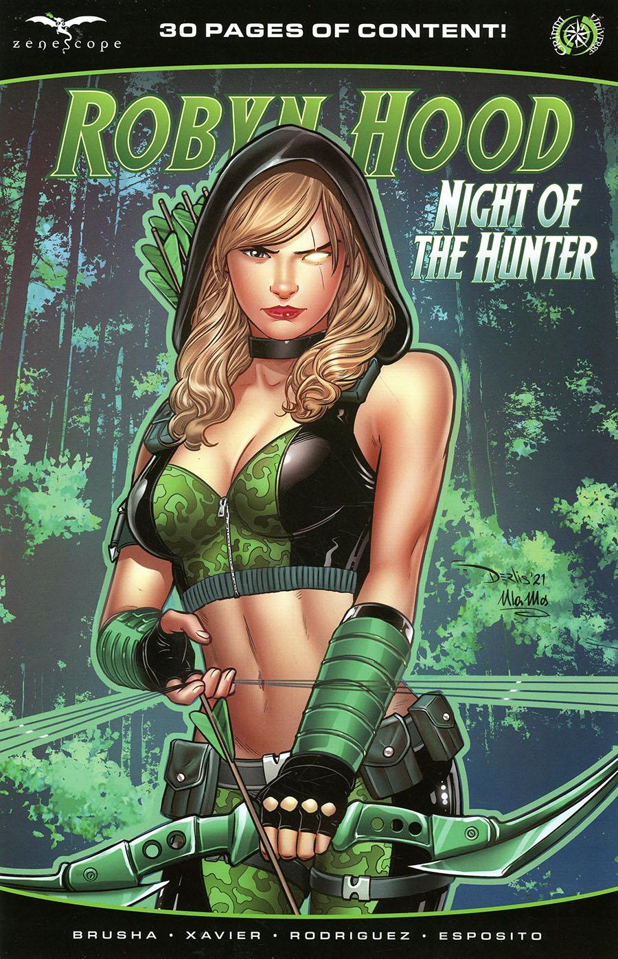 Grimm Fairy Tales Presents Robyn Hood Hunted #1 (One Shot) Cover C Derlis Santacruz