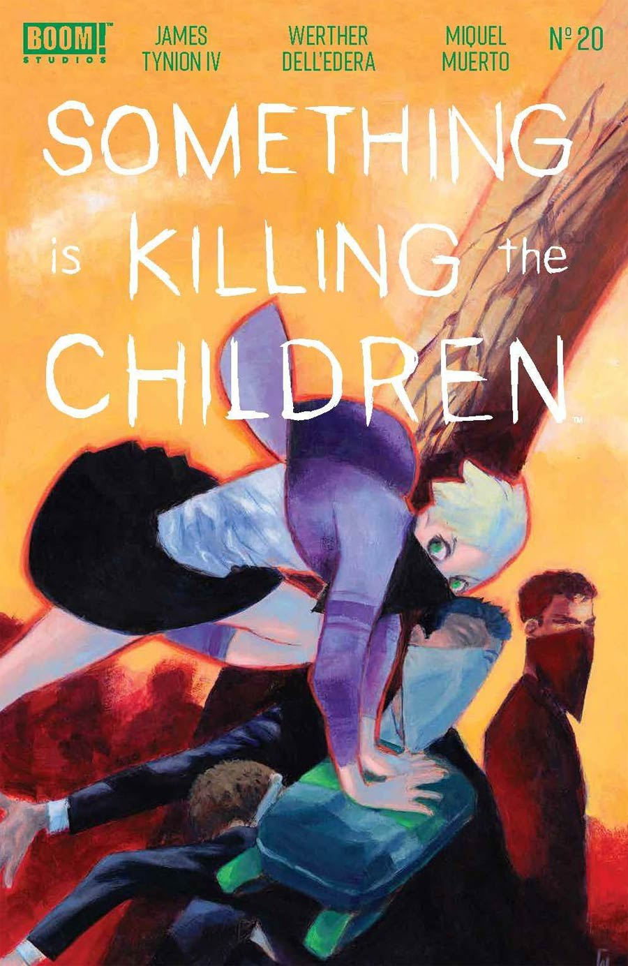 Something Is Killing The Children #20 Cover A Regular Werther Dell Edera Cover