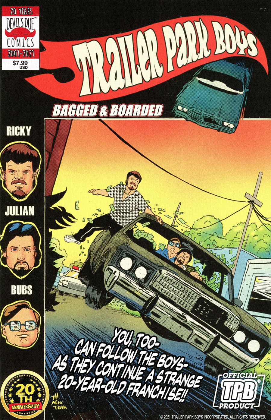 Trailer Park Boys Bagged & Boarded #1 (One Shot) Cover A Regular Travis Hymel Cover