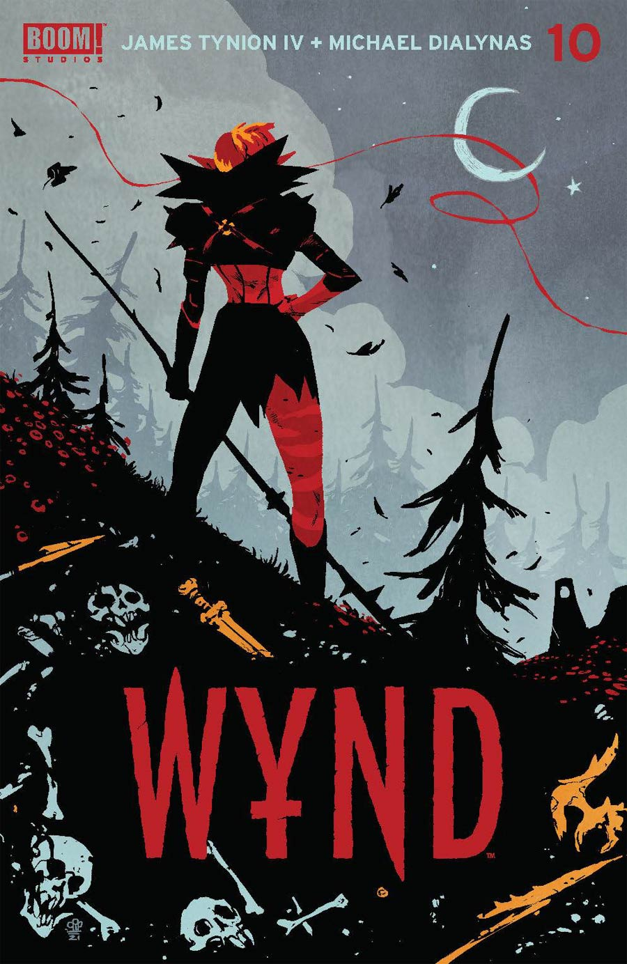 Wynd #10 Cover A Regular Michael Dialynas Cover
