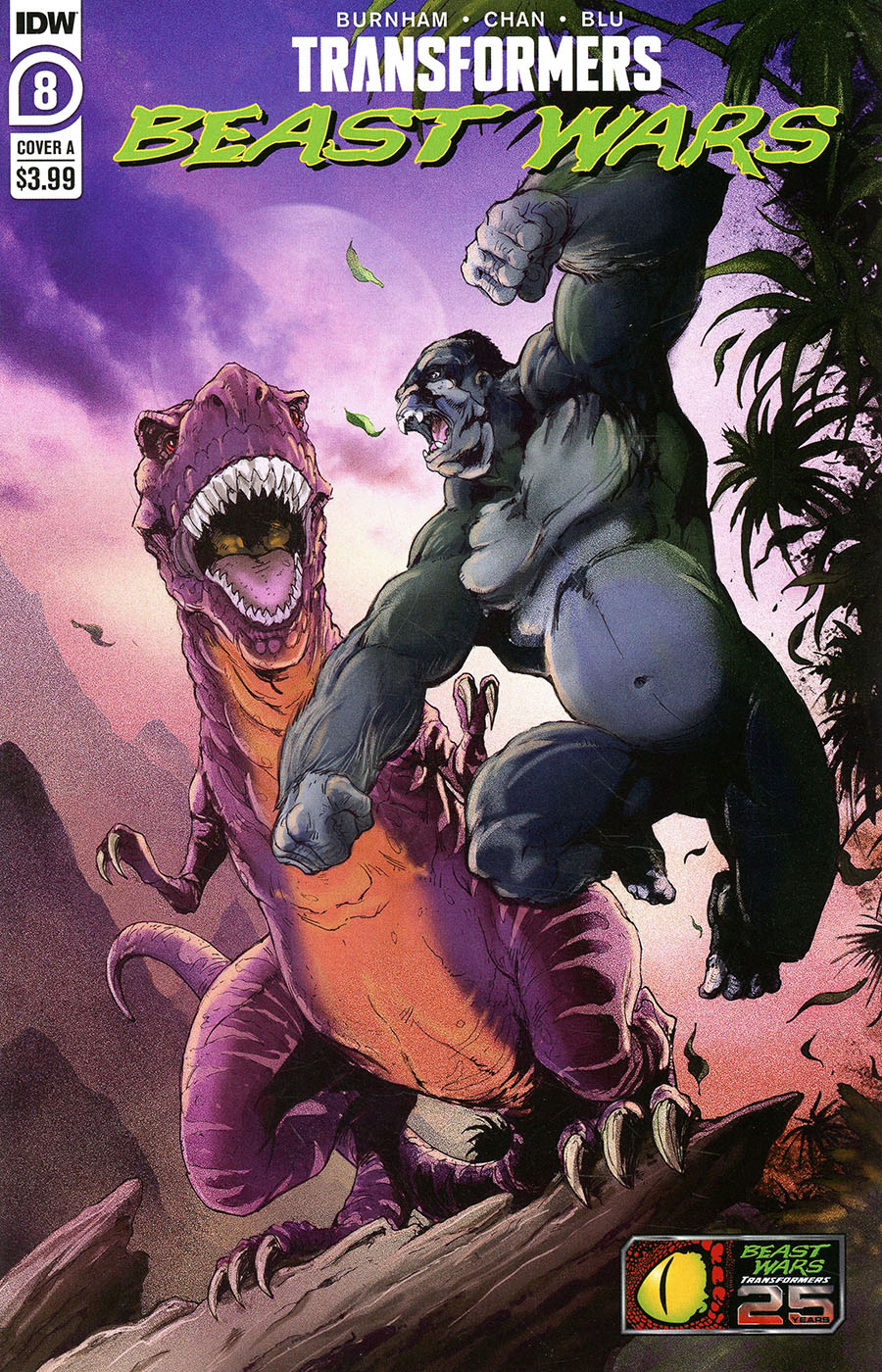 Transformers Beast Wars Vol 2 #8 Cover A Regular Andrew Griffith Cover