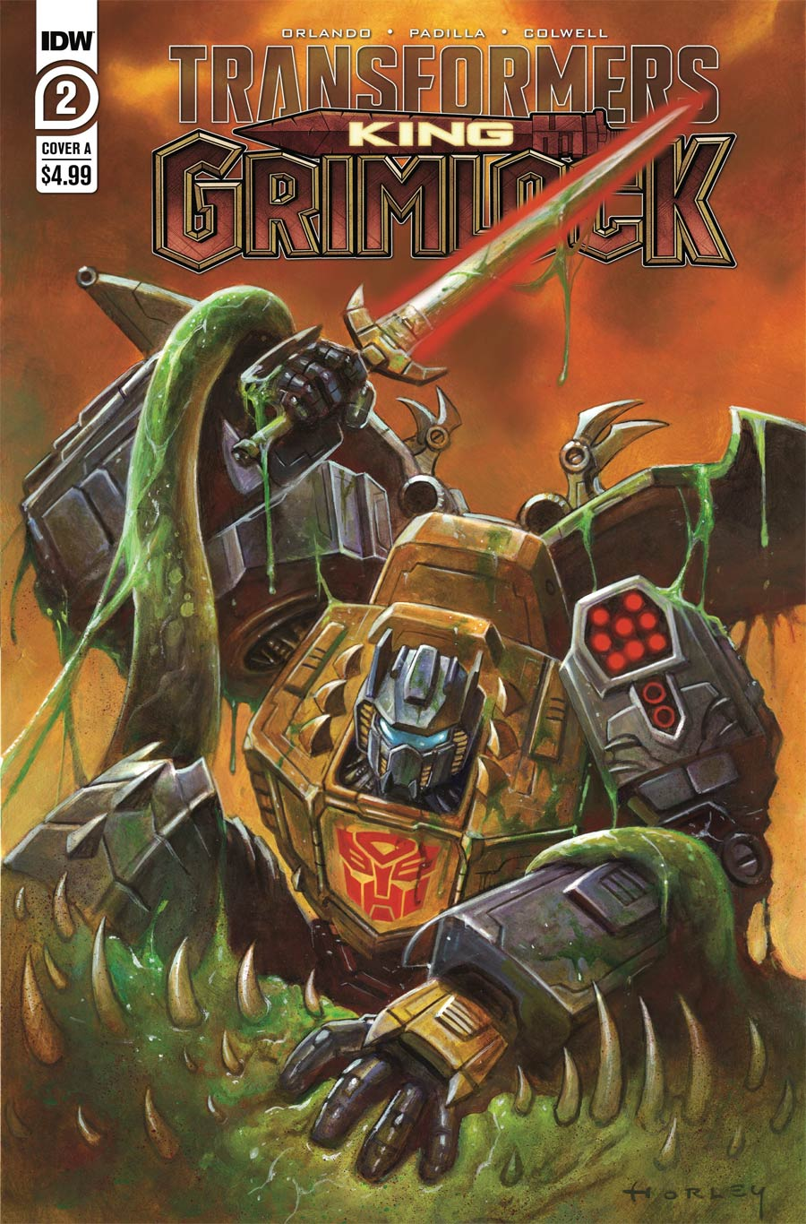 Transformers King Grimlock #2 Cover A Regular Alex Horley Cover