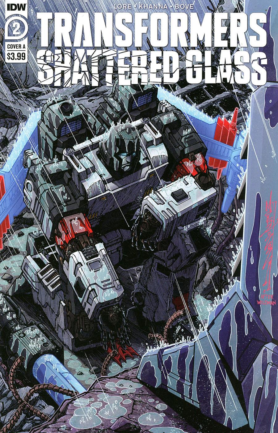 Transformers Shattered Glass #2 Cover A Regular Alex Milne Cover